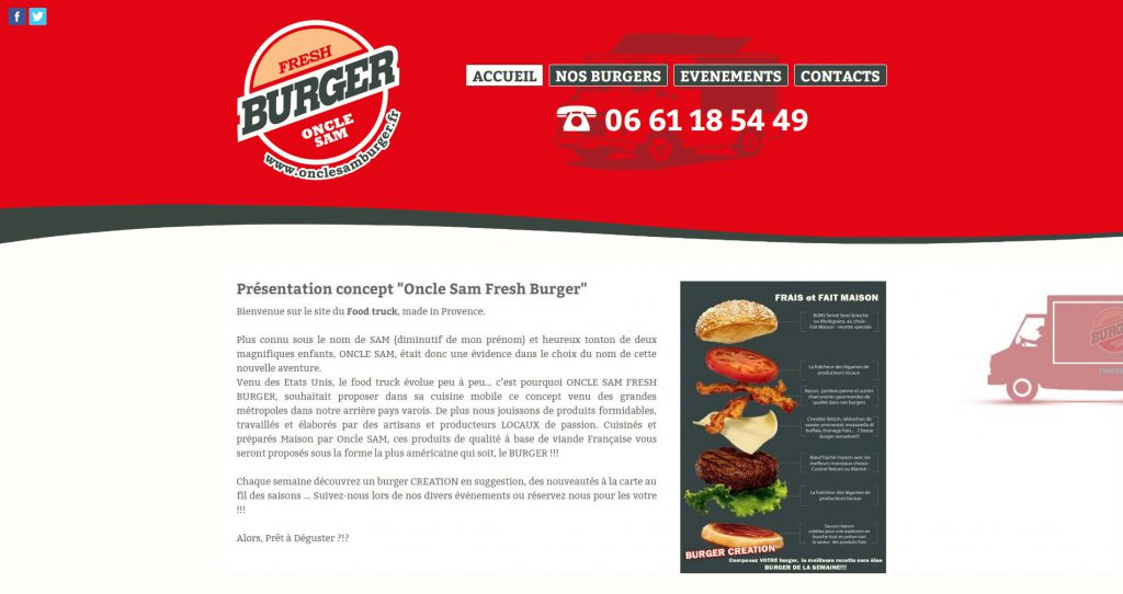 Oncle Sam Burger